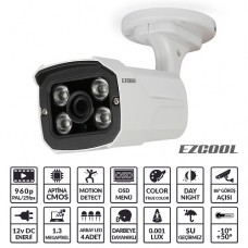 EZCOOL EZ-3613 1.3MP 3.6MM 4 ARRAY LED AHD OSD