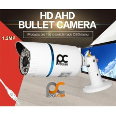 AHD KAMERA 1.2MP METAL KASA 48 LED 3.6MM POLCAM