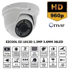 EZCOOL EZ-1013D 1.3MP 3.6MM 36LED IP DOME