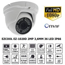 EZCOOL EZ-1020D 2MP 3.6MM 36 LED IP DOME KAMERA