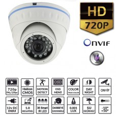 EZCOOL EZ-1110DA 1MP 3.66MM 36 LED IP DOME+SES