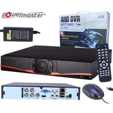 Powermaster AHD-04N 4 Kanal AHD Kayıt Cihazı