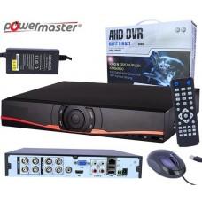 Powermaster AHD-08N 8 Kanal AHD Kayıt Cihazı