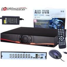 Powermaster AHD-16N 16 Kanal AHD Kayıt Cihazı