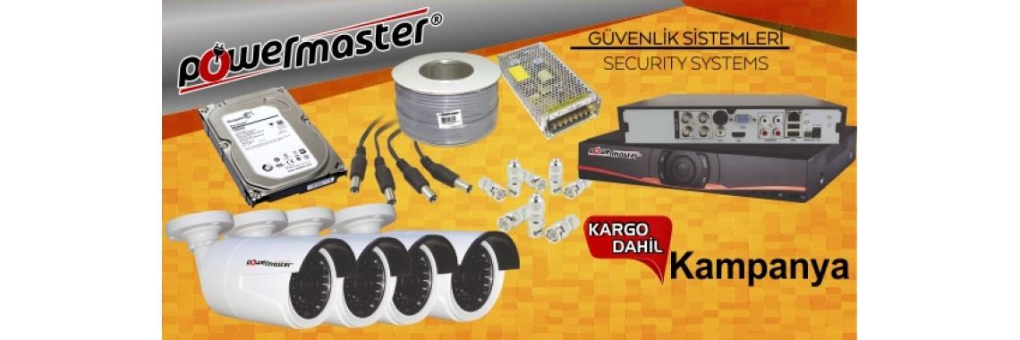 PowerMaster Güvenlik Sistemleri